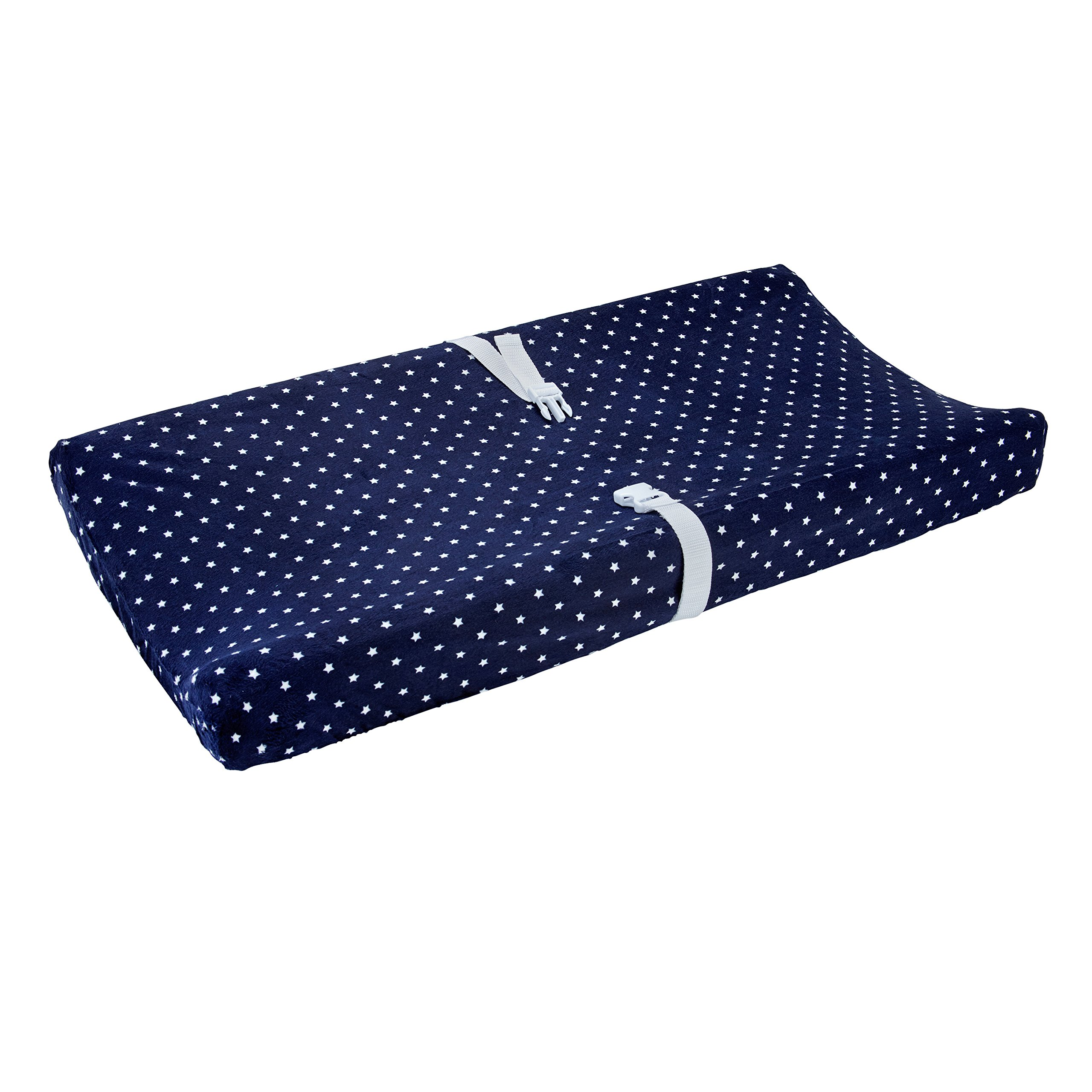 Carter's Changing Pad Cover, Navy Stars, One Size by Carter's