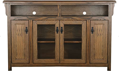 Eagle Mission Tall Entertainment Console