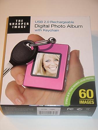 sharper image usb 2.0 digital photo keychain mac