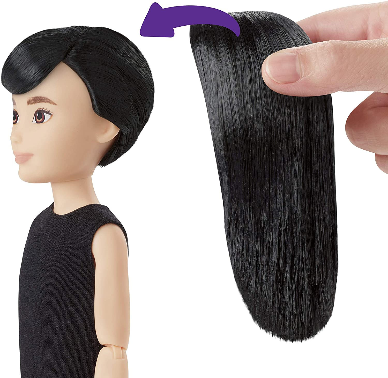 Liv Creatable World Larger Head Dolls Beautiful Long Black Hair NEW