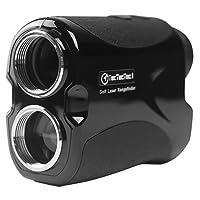 TecTecTec VPRO500 Golf Rangefinder - Laser Range Finder with Pinsensor - Laser Binoculars - Free Battery