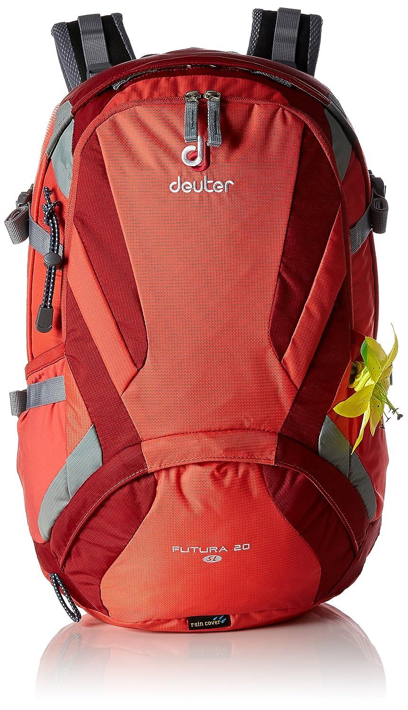 Deuter Futura Mochila para Montaña, Mujer, Rojo (Coral/Cranberry), 20 l: Amazon.es: Deportes y aire libre