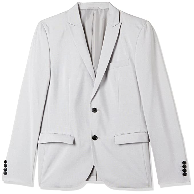 Jack & Jones Men's Slim Fit Blazer Men's Suits & Blazers at amazon