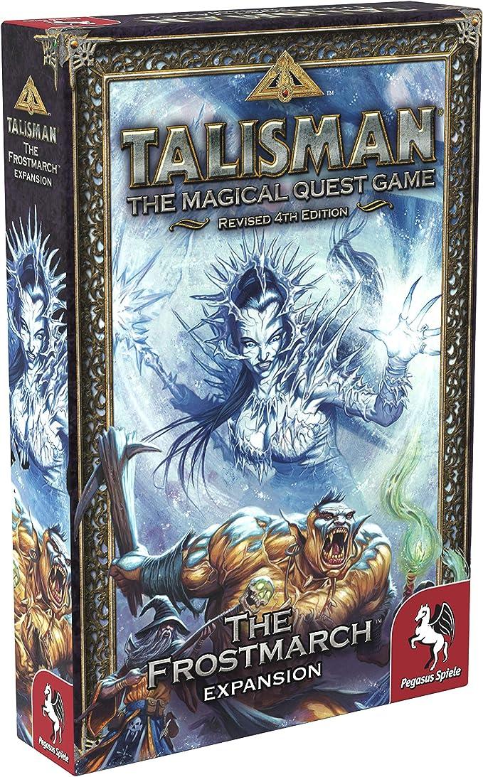 Pegasus Spiele 56203E Talisman The Frostmarch - Juego de Mesa [Importado de Alemania]: Amazon.es: Juguetes y juegos