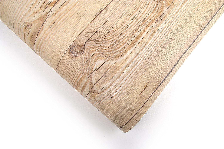 Reclaimed Wood Distressed Wood Panel Wood Grain Self-Adhesive Peel-Stick Wallpaper 78inch VBS308-2
