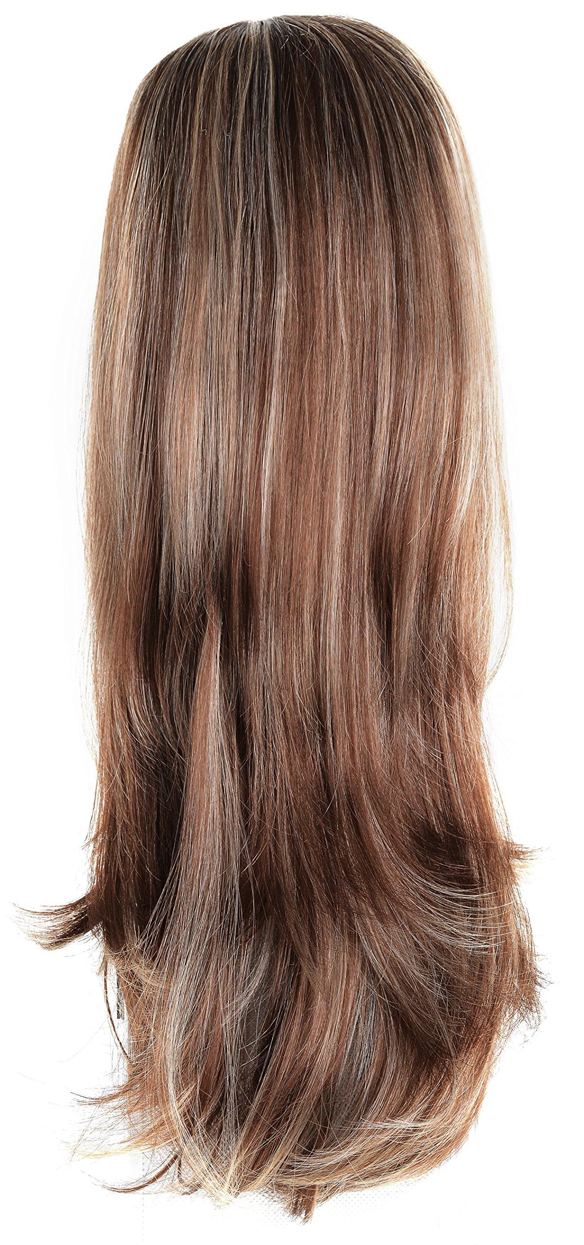 Amazon Onedor 22 Semi Curly Hair Women Ladies 34 Half Wig