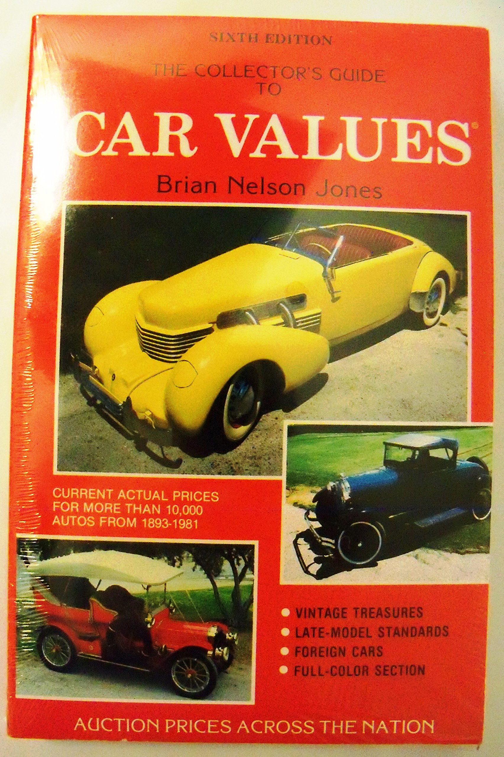 The collectors guide to car values: Auction prices across the nation ...
