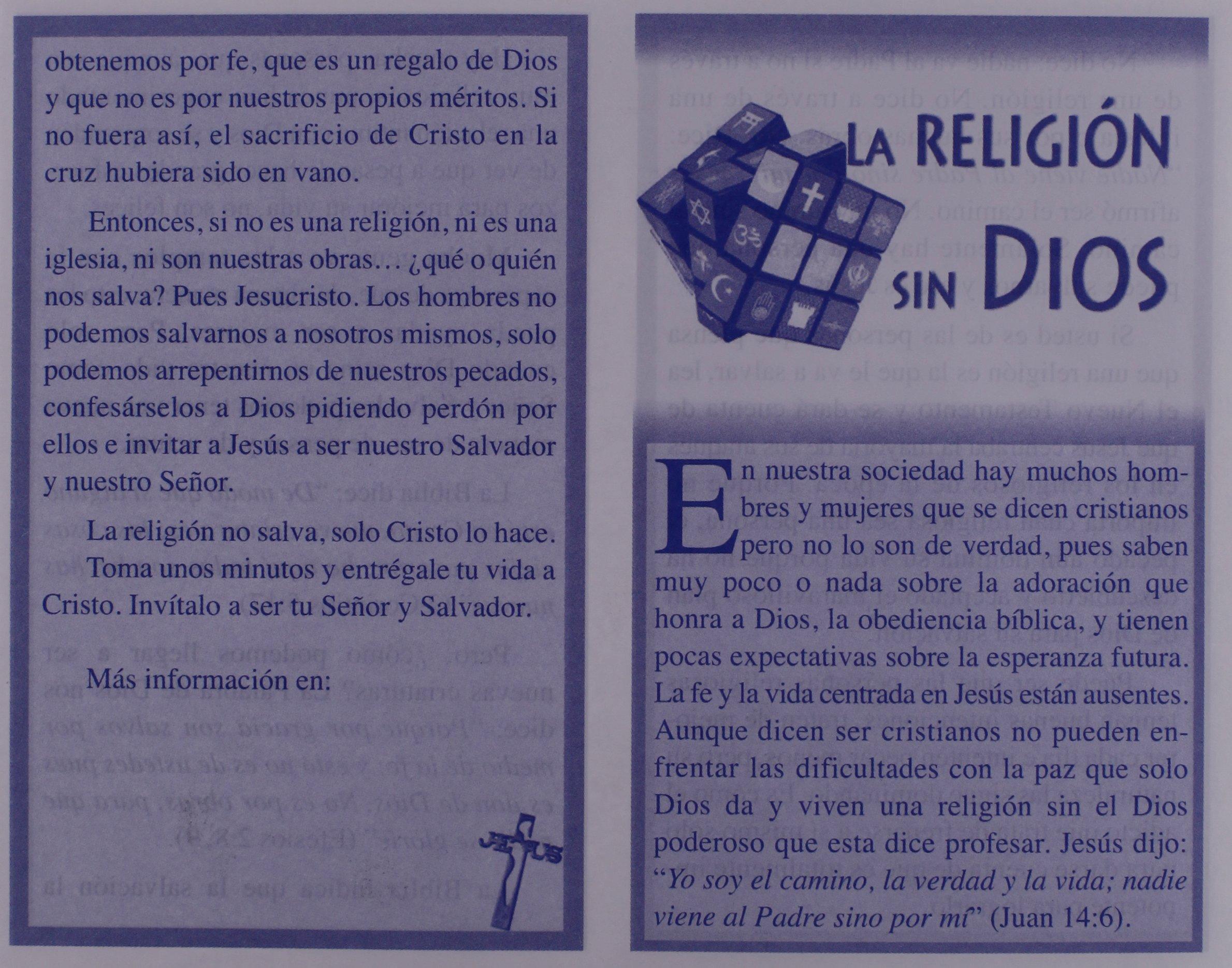 Juego De Tratados Para Evangelizar 2 Colores Spanish Edition