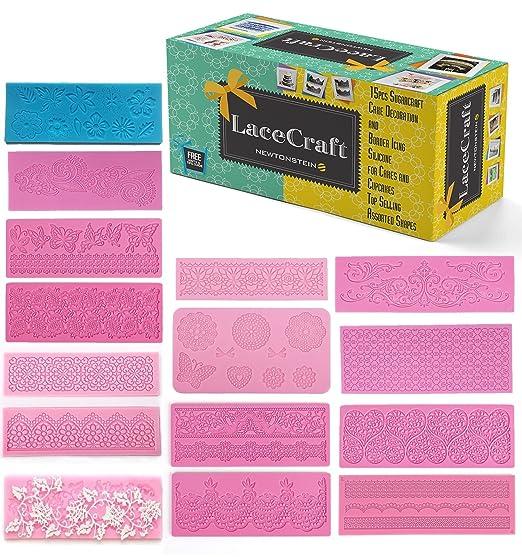 11 opinioni per LaceCraft- 15 pezzi comprendenti decorazioni e bordi di glassa per torte e