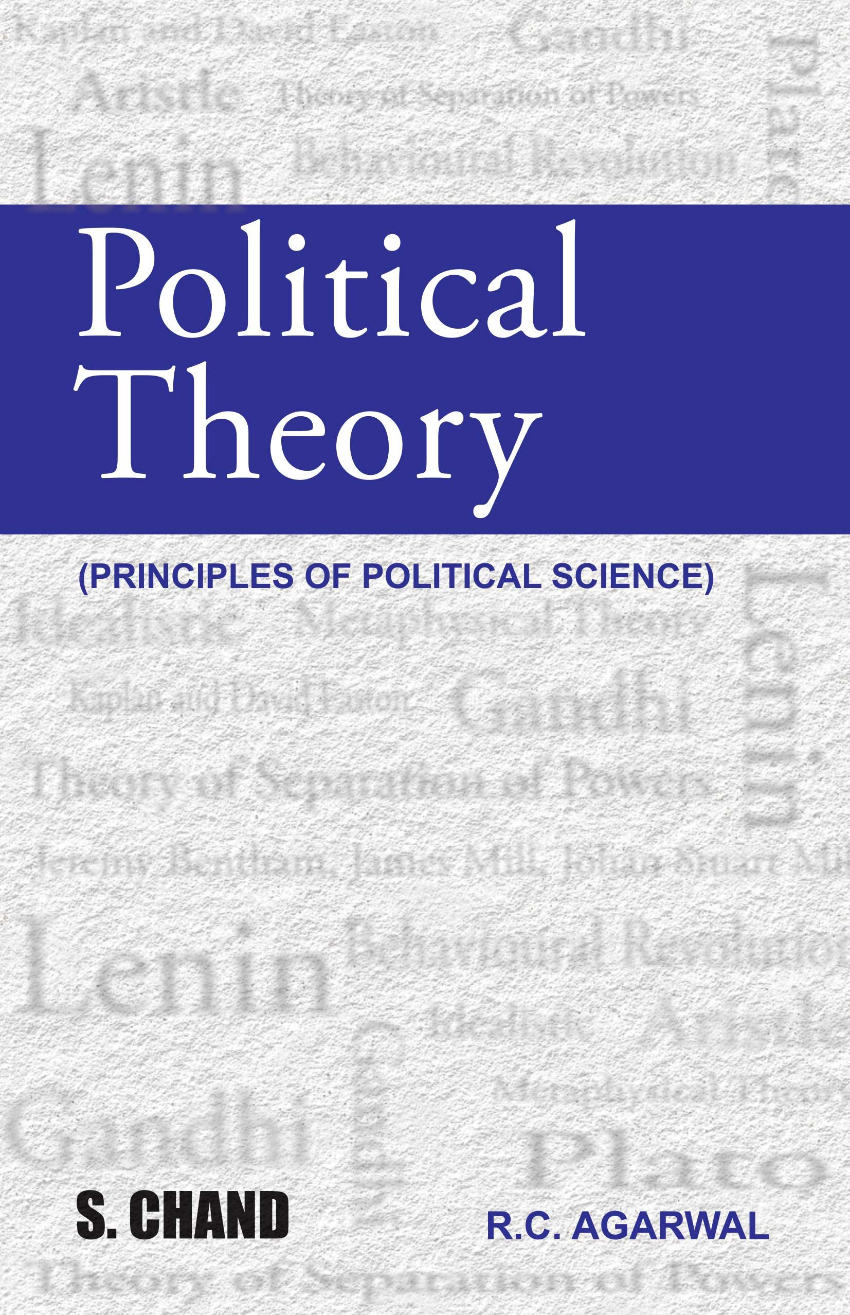 Buy Political Theory Book Online At Low Prices In India Basic Rc Electronics The Principles Reviews Ratings