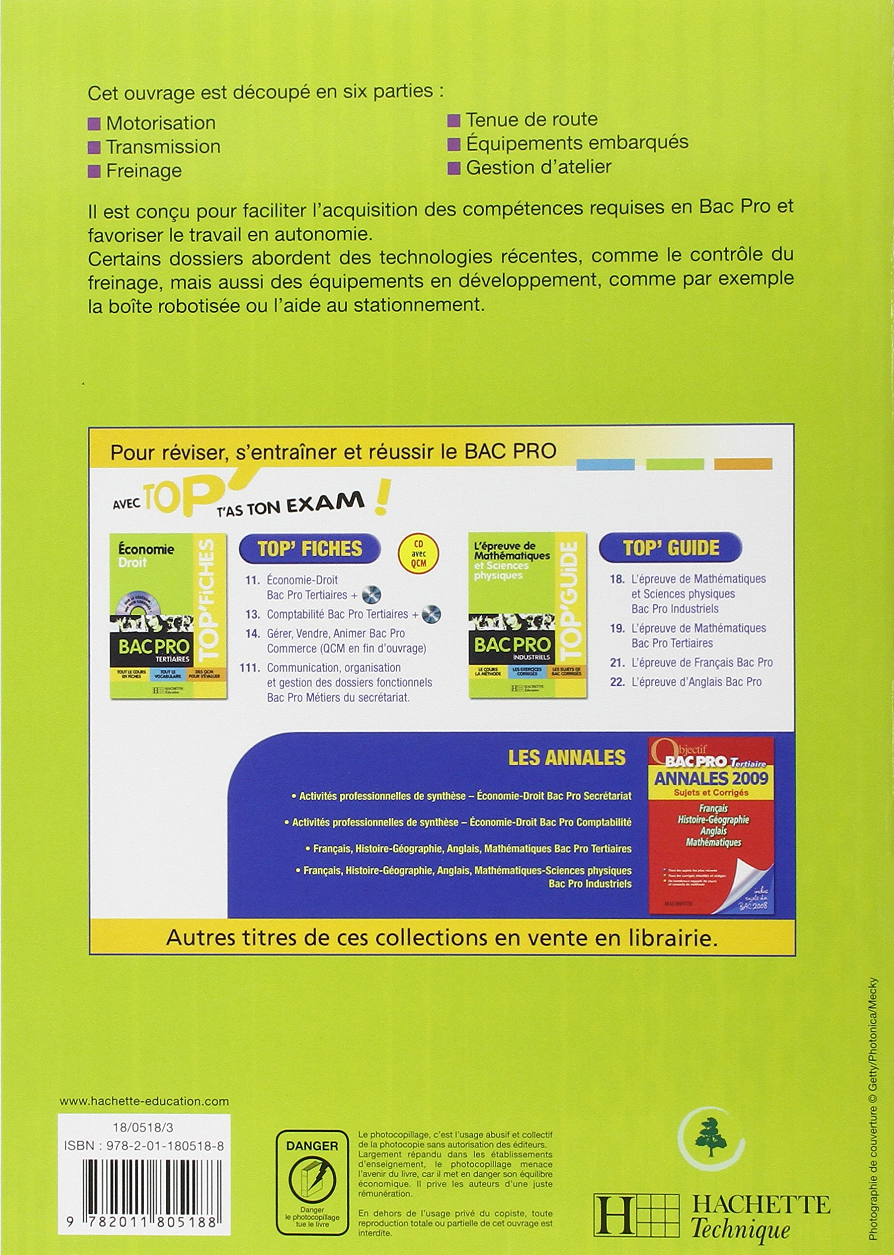 Amazon Fr Maintenance Des Vehicules Automobiles Bac Pro Livre Eleve Ed 2008 Morin Jean Claude Orgaer Christophe Pallenot Fabrice Ruivo Philippe Livres