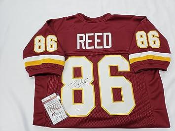 Jordan Reed Signed Washington Redskins Jersey at Amazon s Sports ... b73fd8362