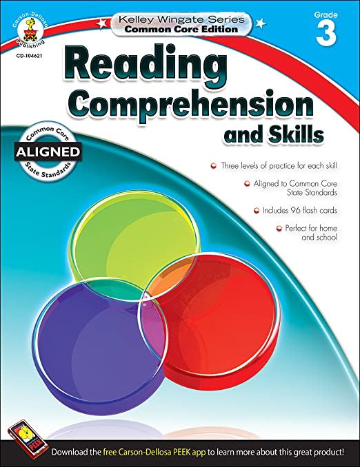 Reading Comprehension and Skills, Grade 3 (Kelley Wingate): Carson ...