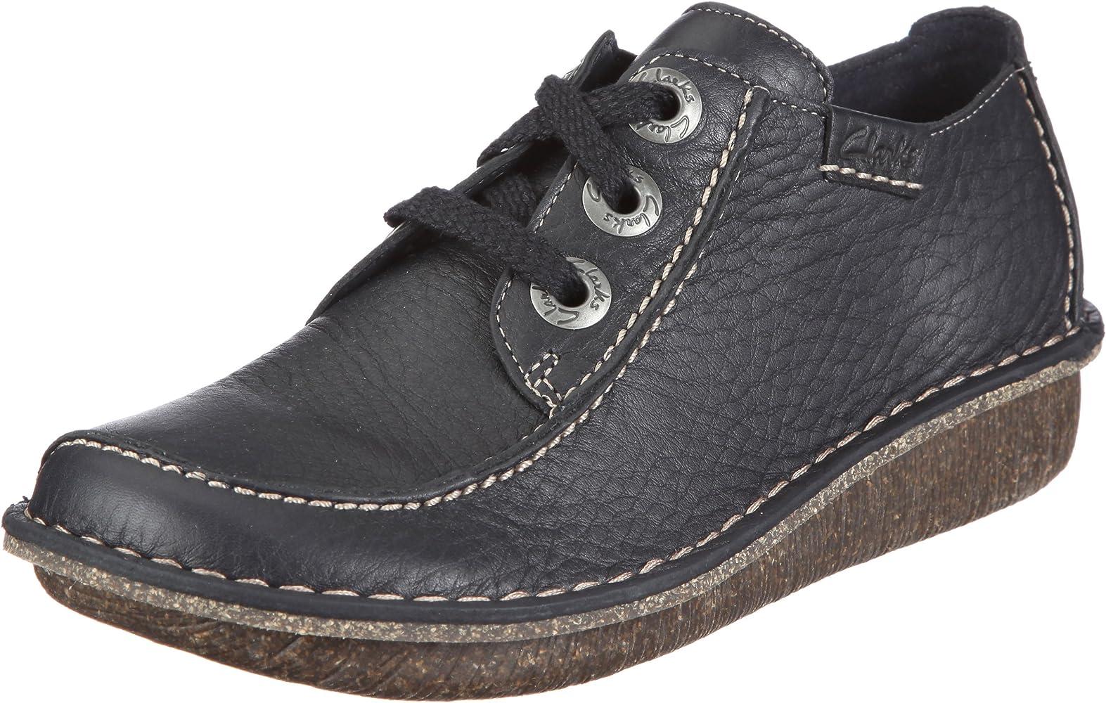 Clarks Funny Dream, Zapatos de Cordones Derby para Mujer, Azul ...