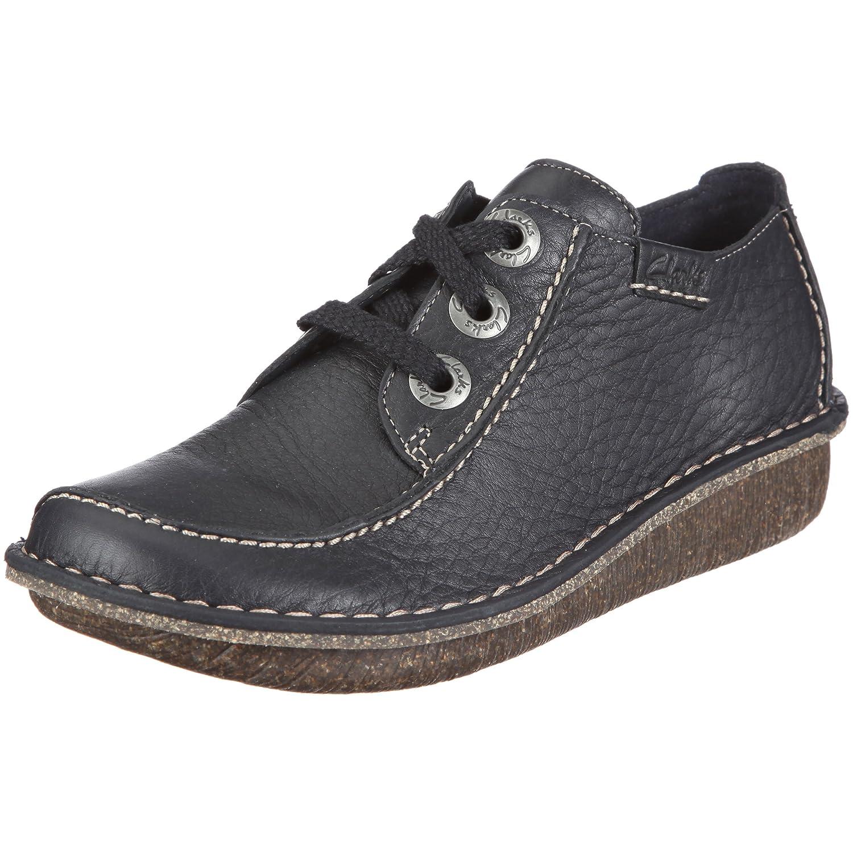Clarks Funny Dream 20301123 - Zapatillas de casa de cuero para mujer 35.5 EU|Azul (Navy)