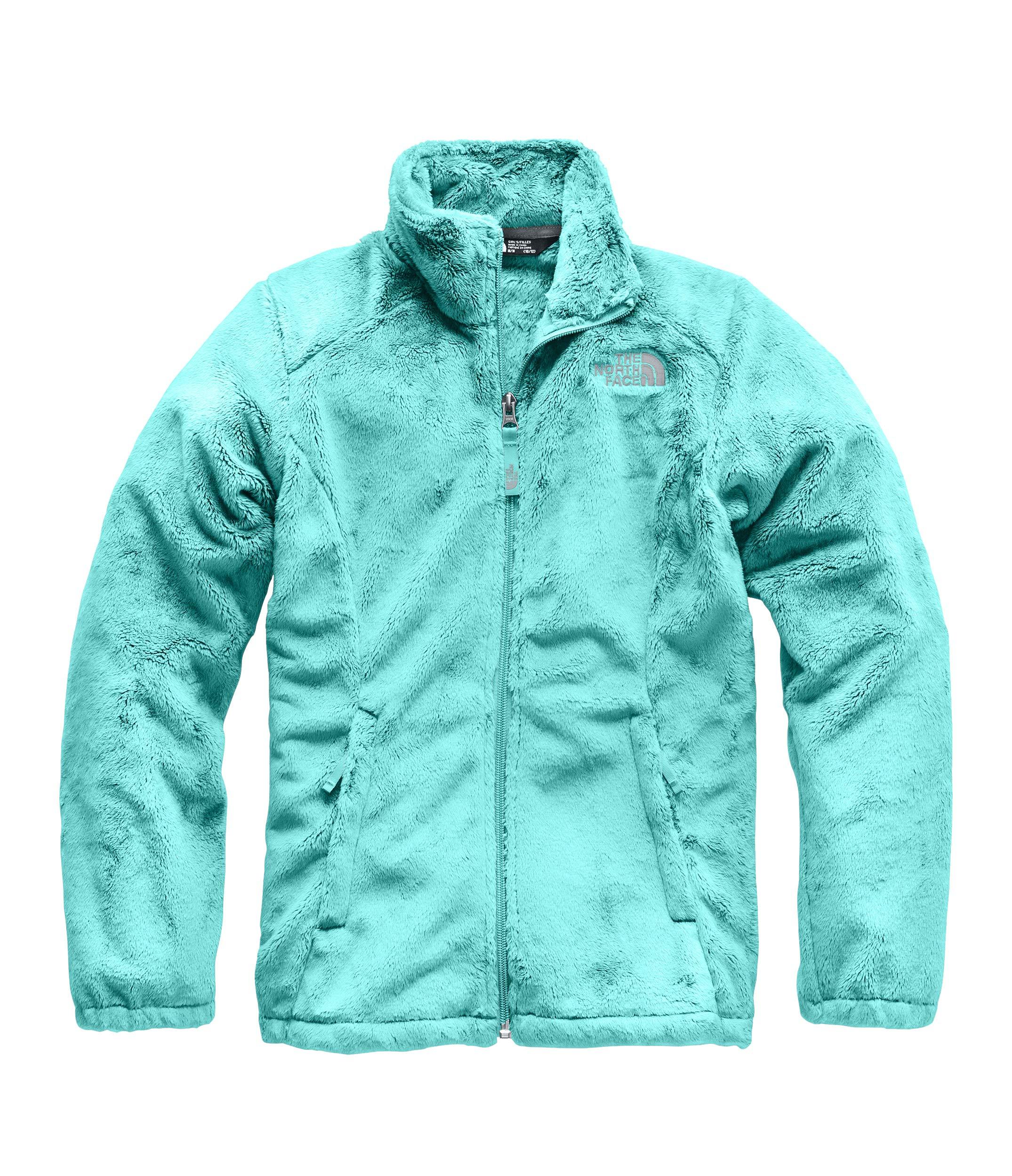 The North Face Girl's Osolita Jacket - Mint Blue - XXS