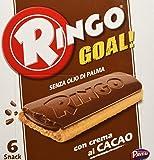 Pavesi - Ringo Goal al Cacao - 3 confezioni da 6 snack [18 snack, 504 g]