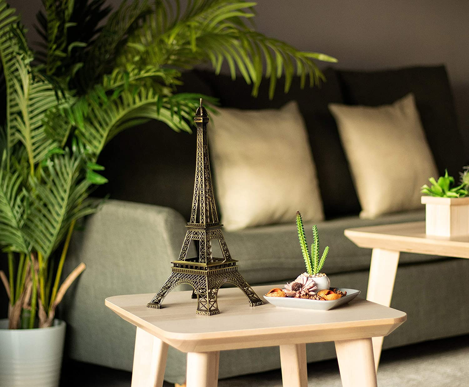 - Black Metal Eiffel Tower Centerpiece Decoration Large, Black Juvale Craft and Party