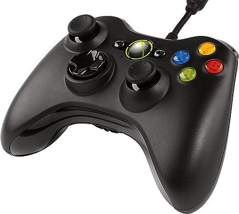 Microsoft - Mando, Color Negro (PC, Xbox 360): Amazon.es: Videojuegos