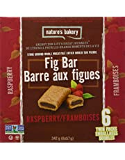 Nature's Bakery Fig Bars (Pack of 6), Whole Wheat Raspberry, 340.2g