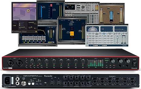 Focusrite Scarlett 18i20 - Interfaz de audio USB (3ª generación, incluye filtros Mobius Waves Musicians 2 e iZotope: Amazon.es: Instrumentos musicales