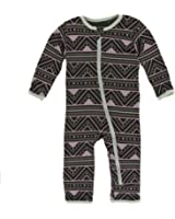 Kickee Pants Bamboo Coverall With Zipper