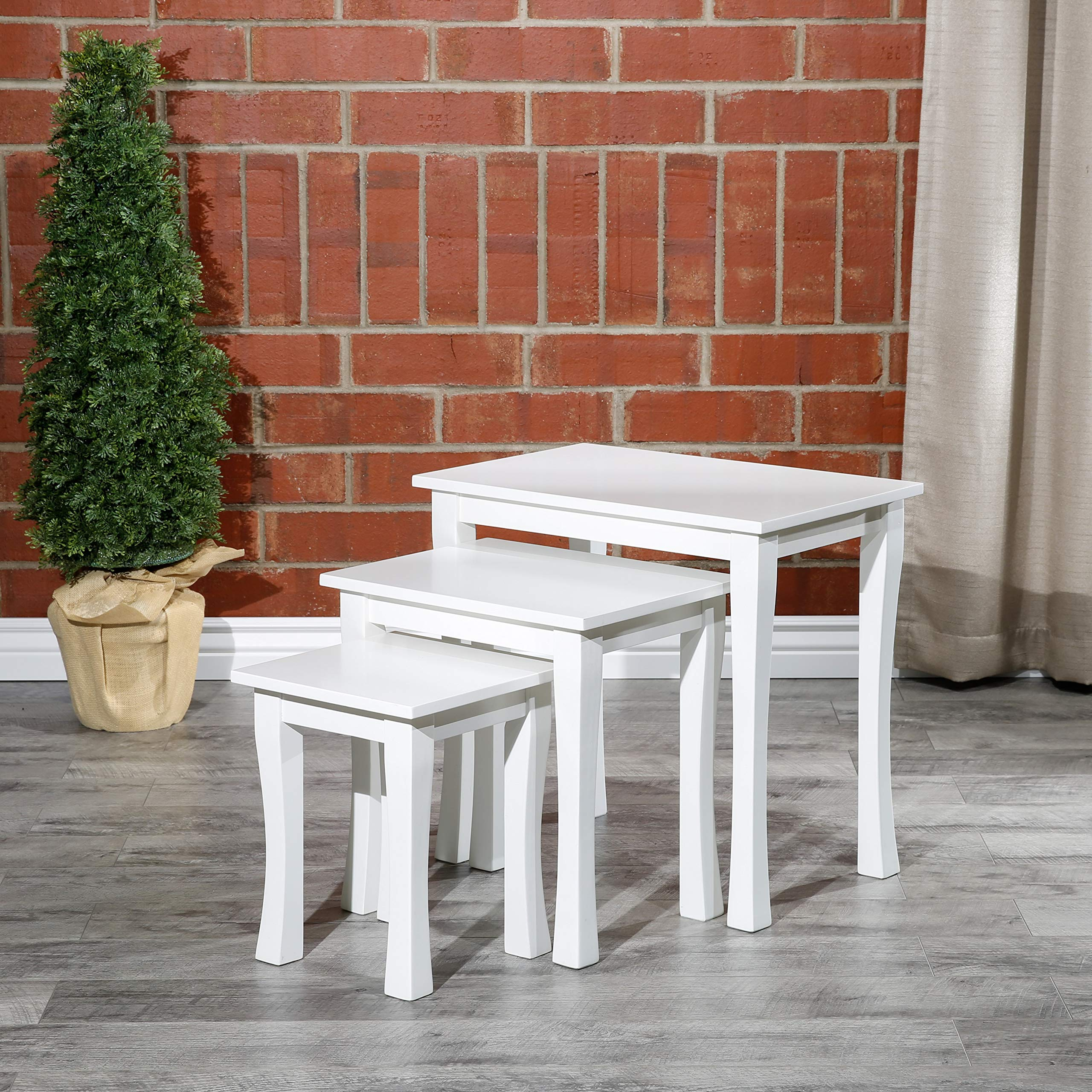 DTY Indoor Living Boulder 3-Piece Nesting Table Collection by DTY