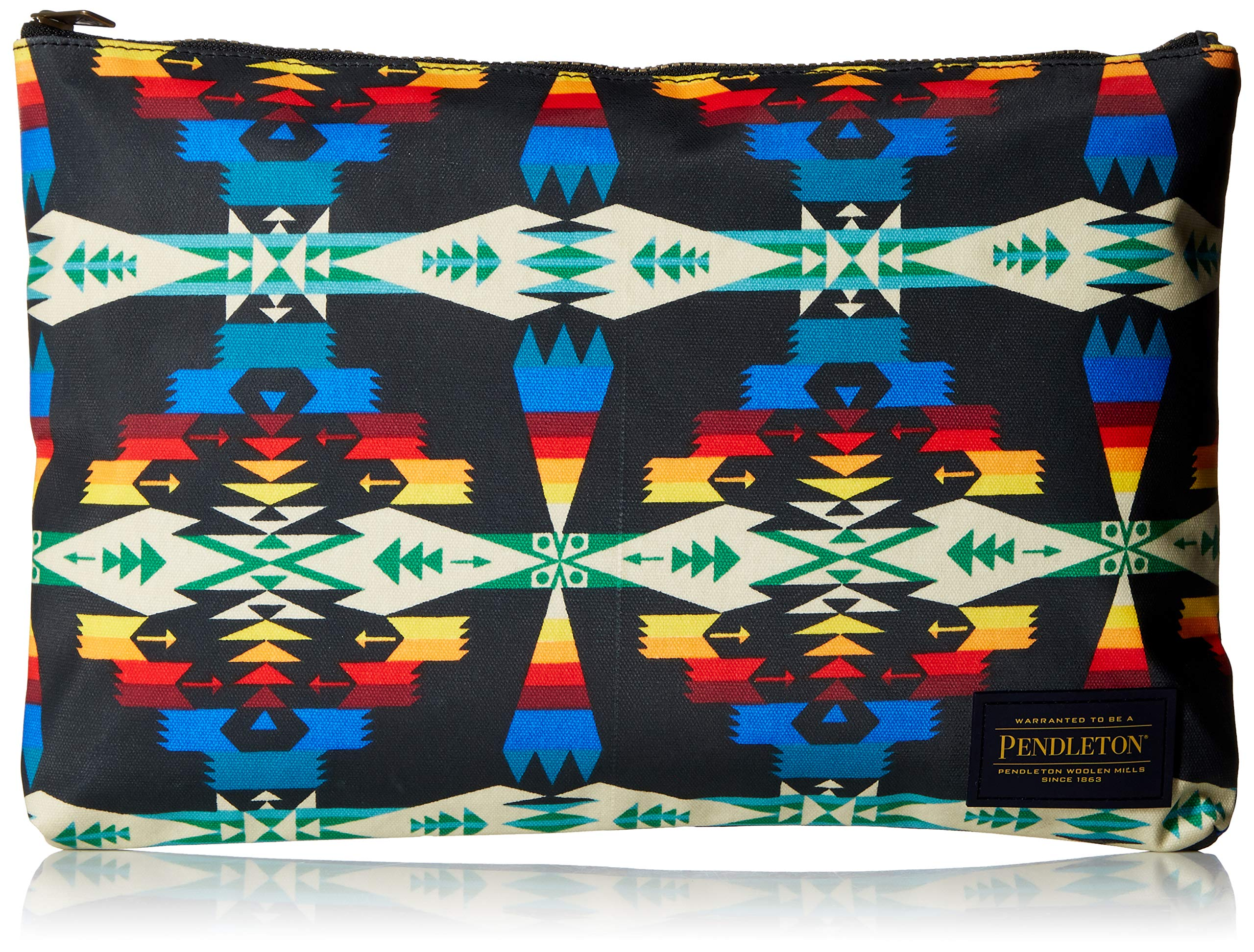 Pendleton Women's Canopy Canvas Big Zip Pouch, Tucson Black, One Size by Pendleton