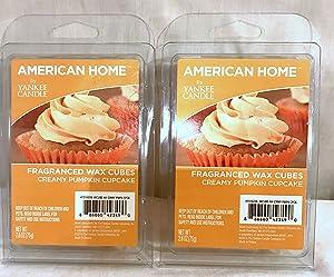 Yankee Candle American Home Creamy Pumpkin Cupcake Fragranced Wax Cubes