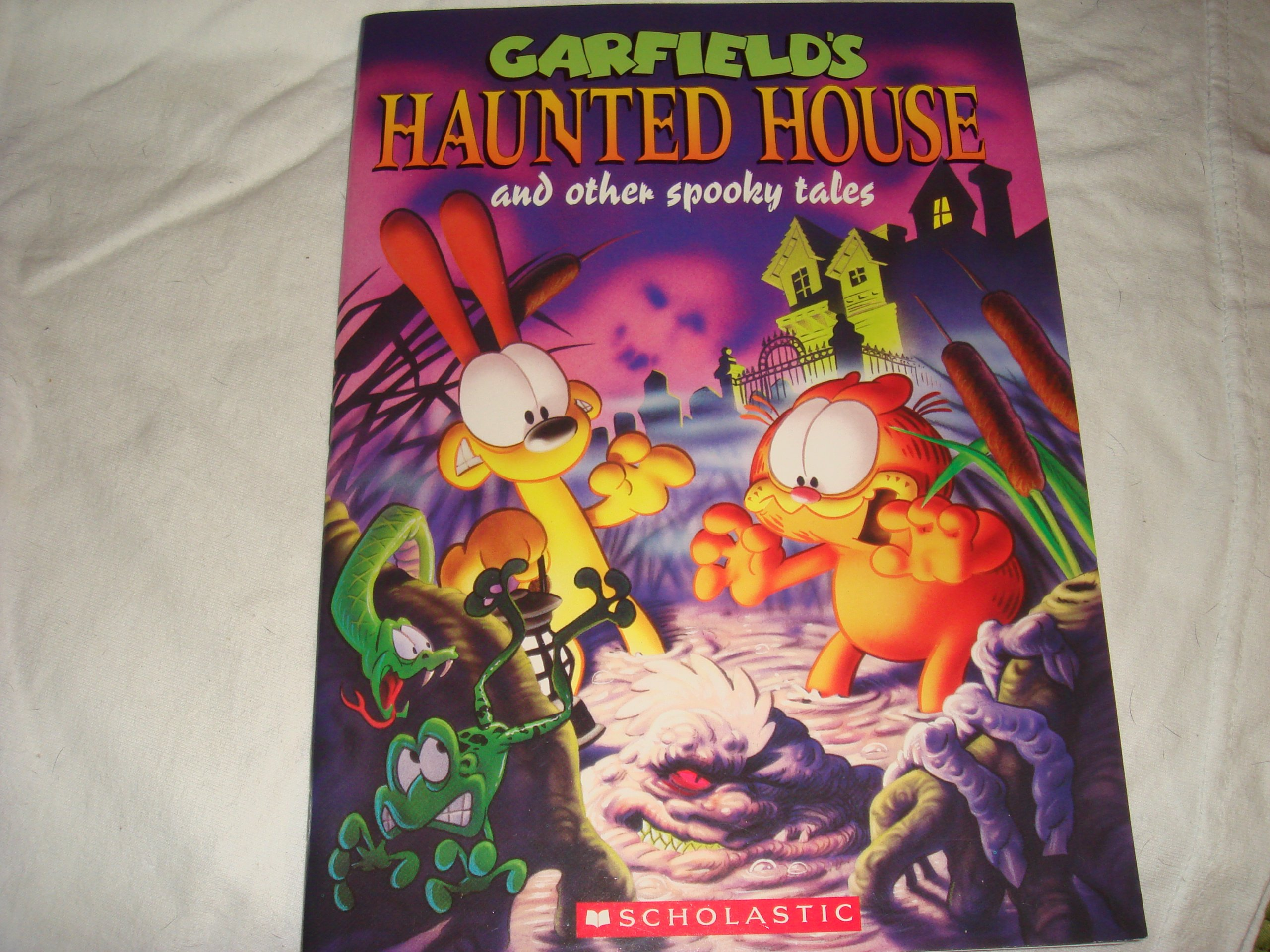 Garfield S Haunted House And Other Spooky Tales Jim Davis 9780439637848 Amazon Com Books