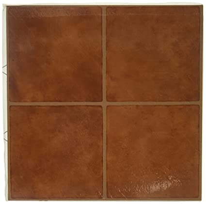 adhesive bfac vinyl sq nexus tiles self tile ip ft floor saddlewood