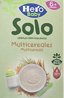 Hero Baby 28360, Solo Multicereales, 6x300gr