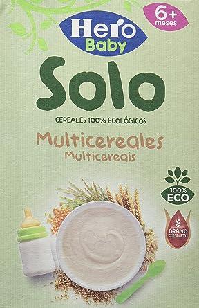 Hero Baby 28360, Solo Multicereales, 6x300gr: Amazon.es: Alimentación y bebidas