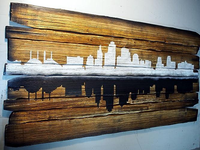Amazon Kansas City Skyline Artwork