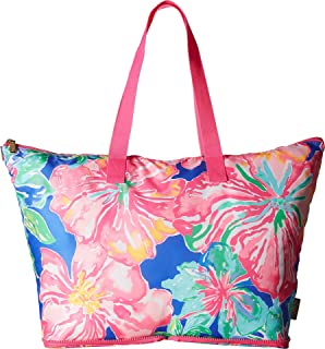 c2a5865bf0 Amazon.com  Lilly Pulitzer Getaway Packable Tote Seasalt Blue Honda ...