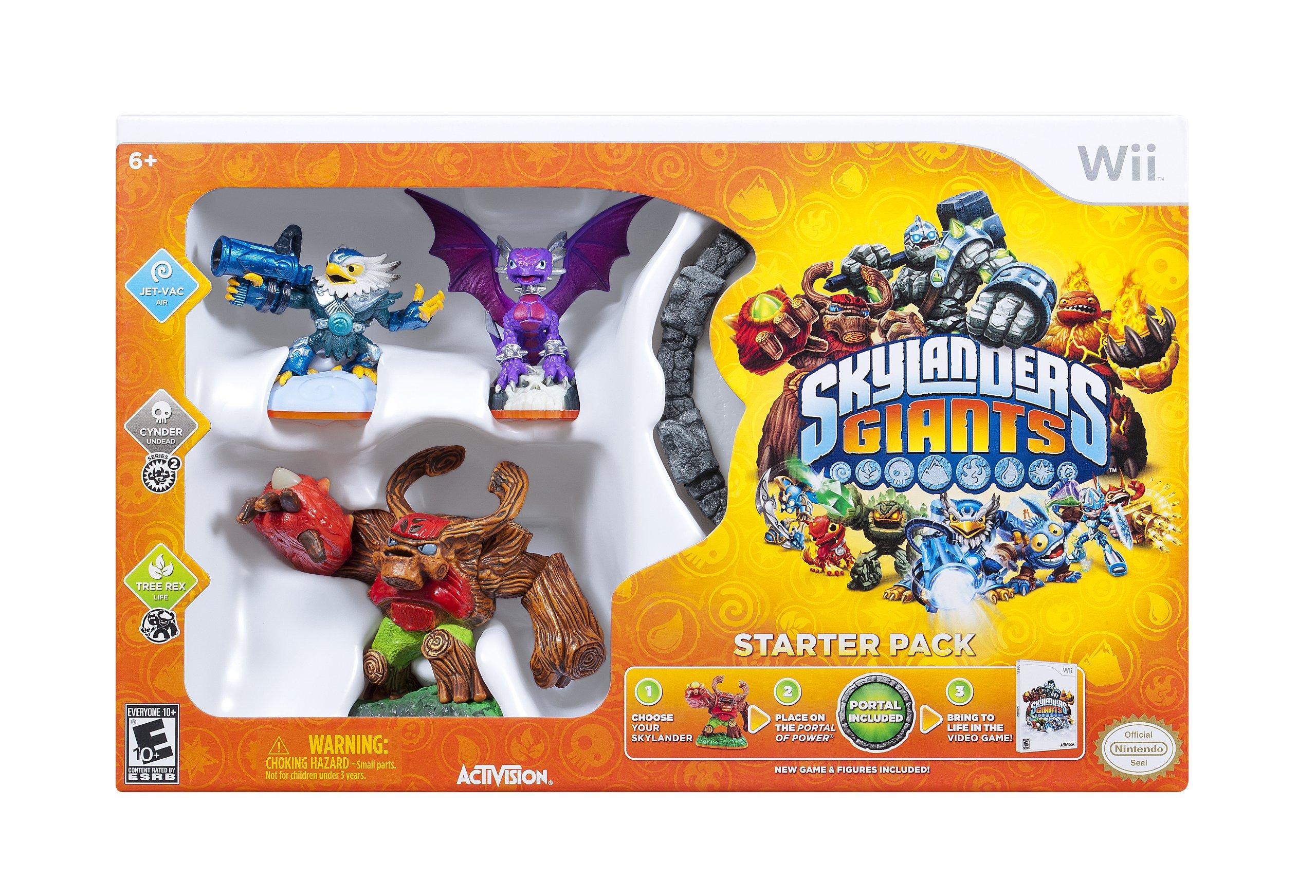 Skylanders Giants Starter Pack - Nintendo Wii