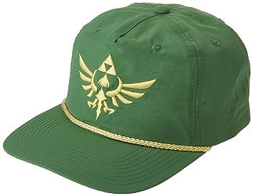 Amazon.com  BIOWORLD Zelda Crest Slouch Hat Snapback 3705f3073