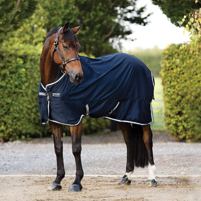 Horseware Rambo Cotton Sheet 5ft9 Navy//Tan//Baby Blue//Navy