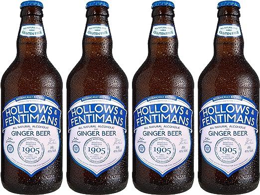 Hollows & Fentimans Alcoholic Ginger Beer 4 x 500ml (Pack of 4): Amazon.es: Alimentación y bebidas