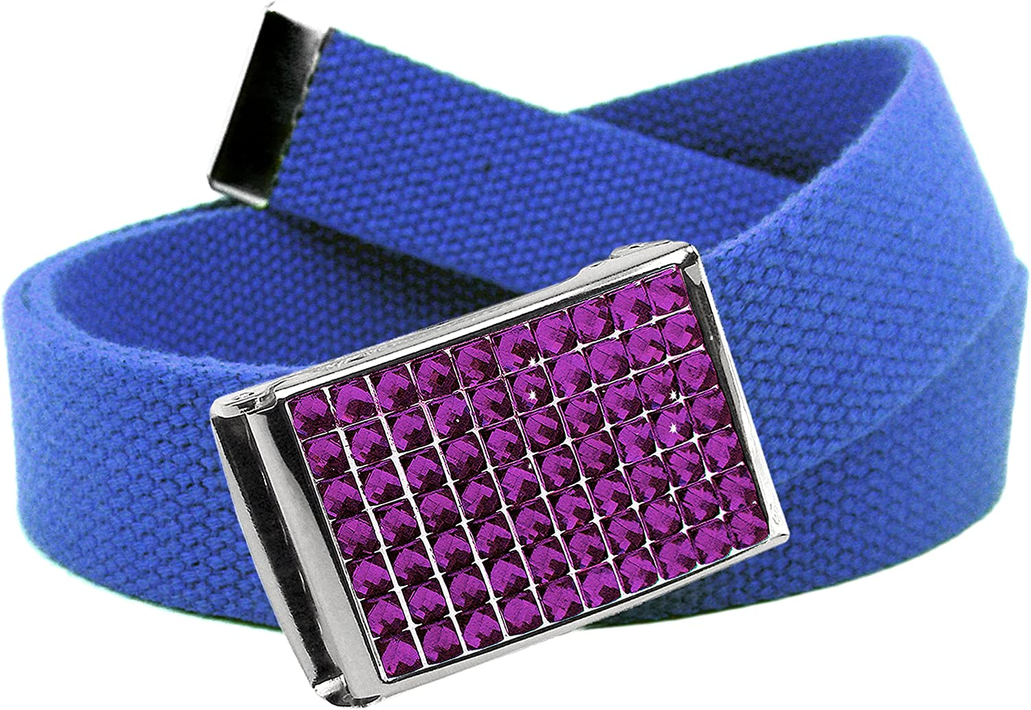 Buckle-Down Mens Web Belt Tattoo Johnny Hummingbird 1.25 Multicolor Wide-Fits up to 42 Pant Size