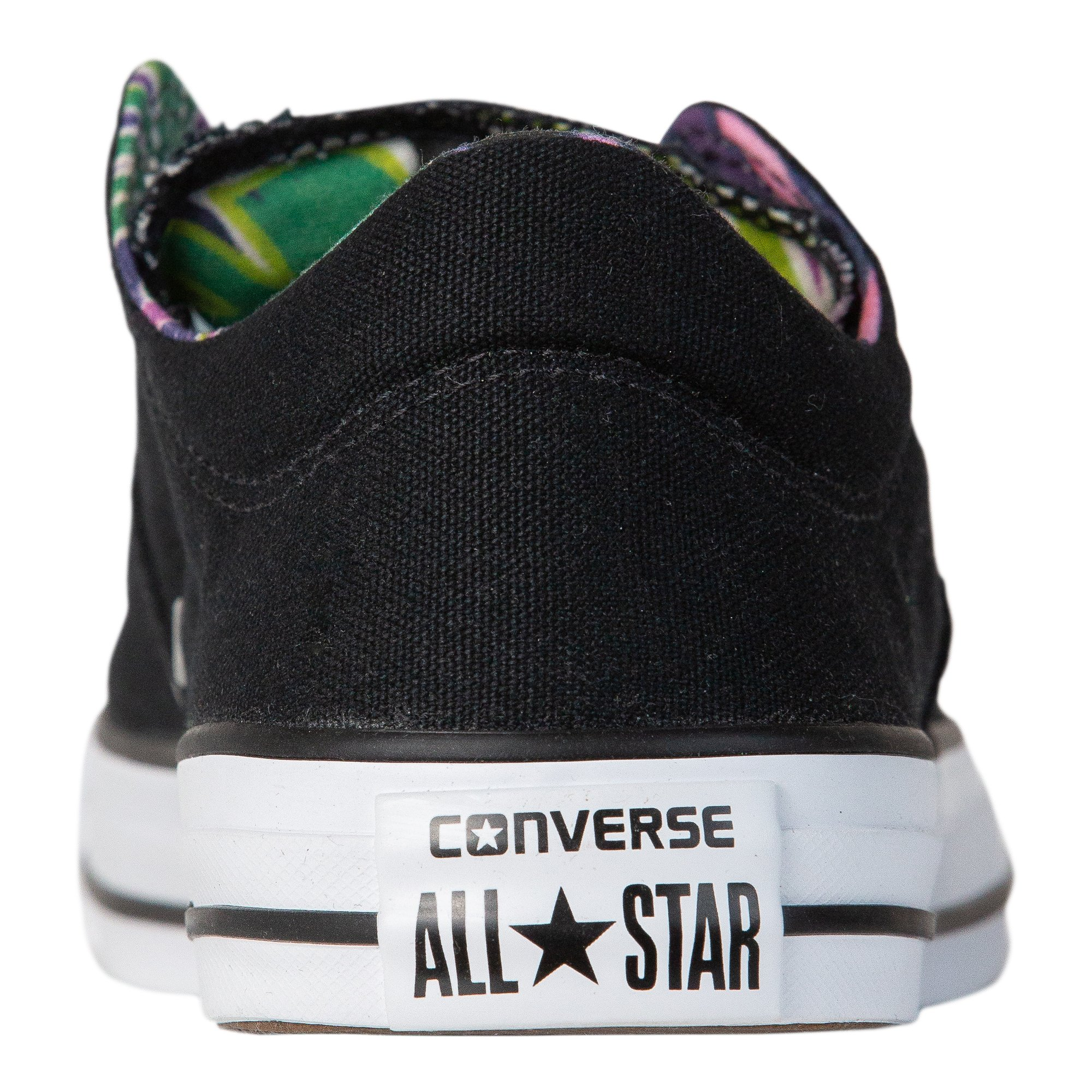 Converse Women's Chuck Taylor All Star Madison Sneakers, Black/White/White, 8 B(M) US by Converse (Image #3)