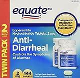 Equate - Anti-Diarrheal, Loperamide 2 mg, 144