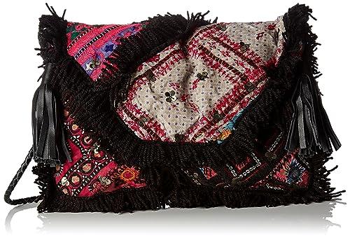 Antik Batik - Chubba Wallet, Organizadores de bolsos Mujer, Noir (Black), 3x23x33 cm (W x H L): Amazon.es: Zapatos y complementos