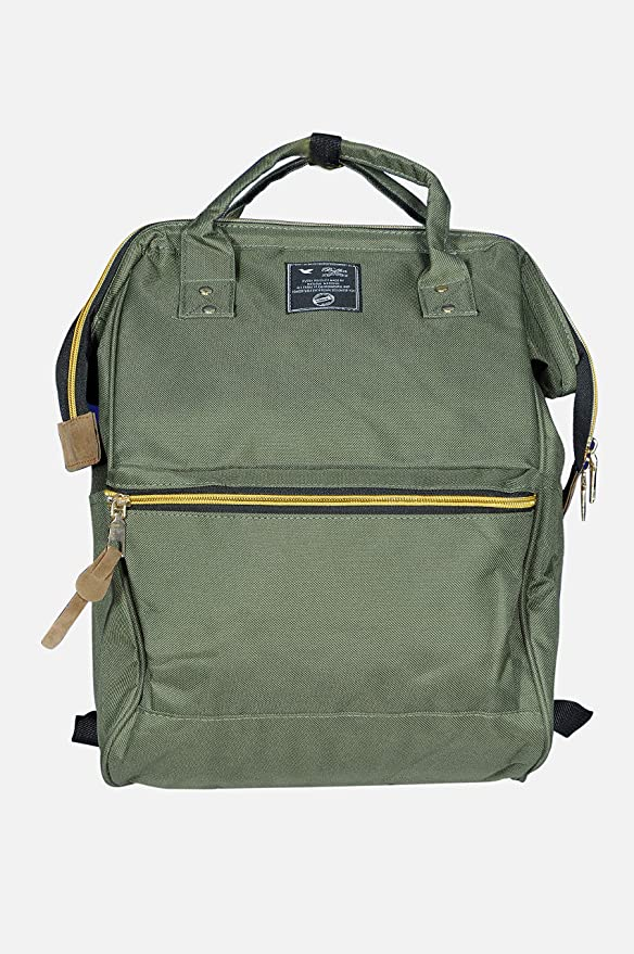 Ineffable Diaper Bag Backpack Nursing Bags Diaper Maternity Backpack, Stylish Waterproof Multifunctional Diaper Backpack/Handbag, Travel Nappy Tote Bag (Green)