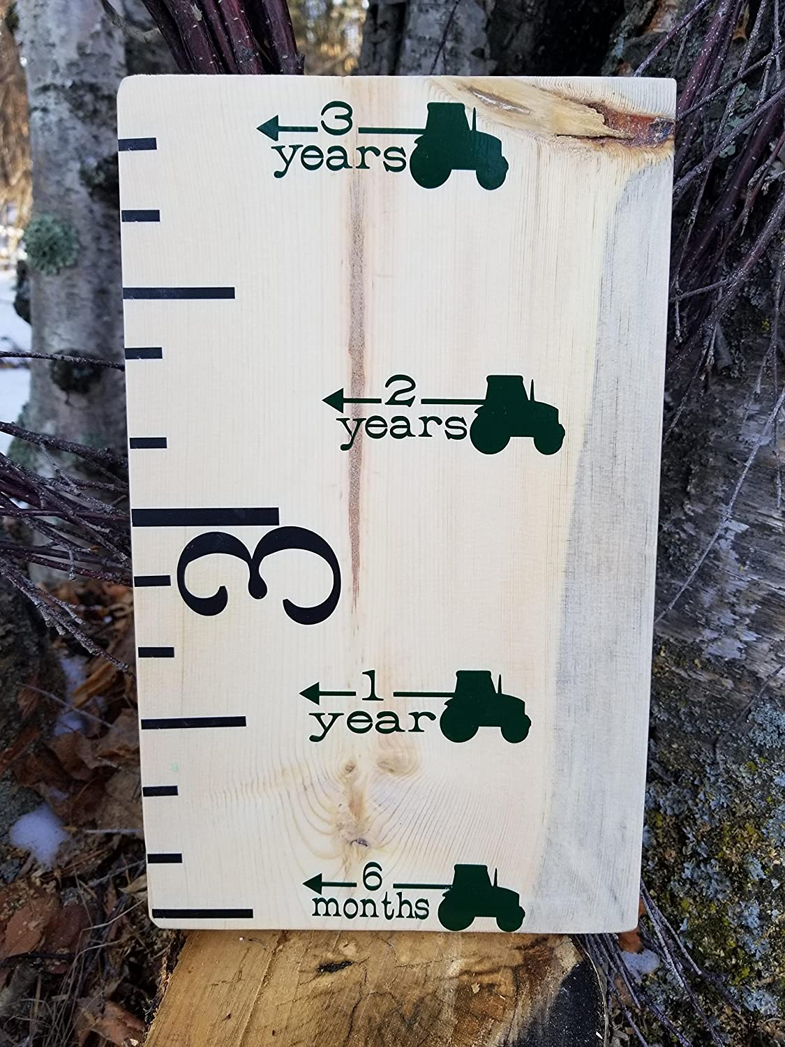 Tractor ~ Height Marking Arrows for Growth Charts