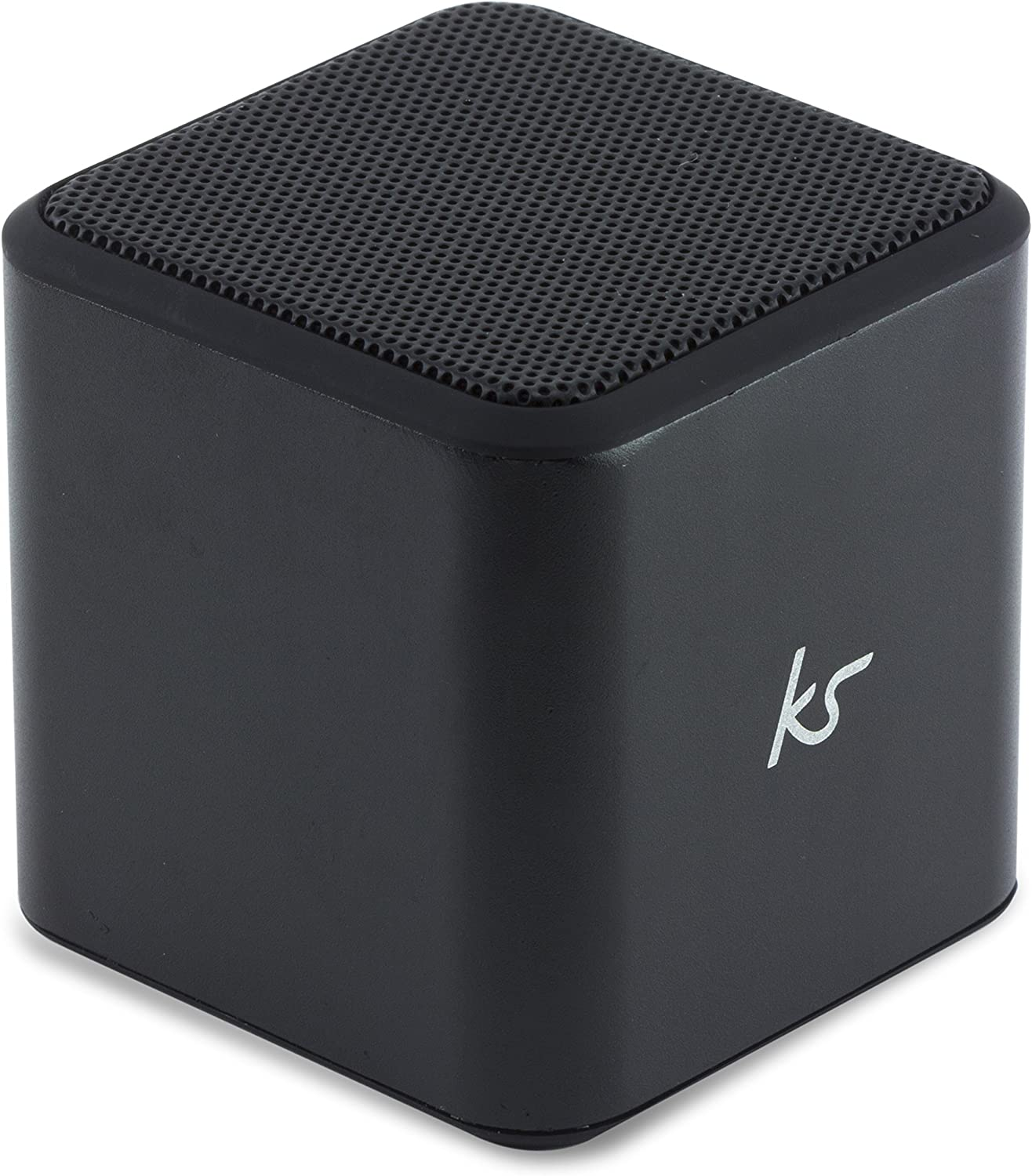 KitSound Cube Universal Bluetooth Wireless Portable Speaker Compatible with  iPod, iPad, iPhone, Samsung and Android devices - Black