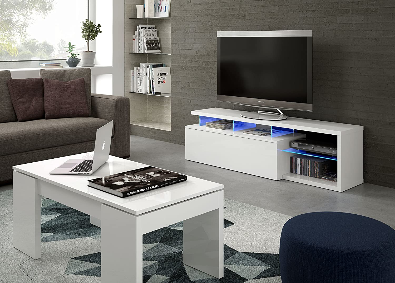 Habitdesign 026630BO - Modulo de tv moderno, mueble salon, color ...