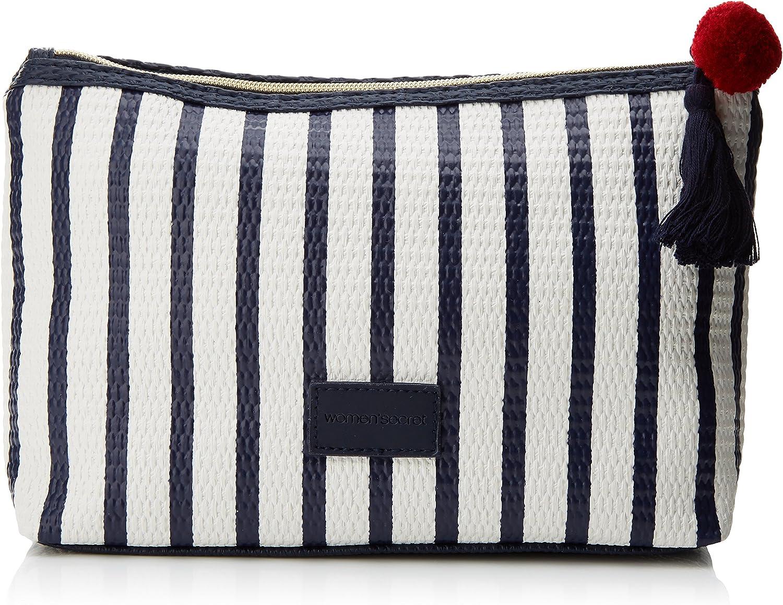 Womens Secret 4843851 Bolsa para Lencería, Azul (Marine Blue 10), One Size (Tamaño del Fabricante:U) para Mujer: Amazon.es: Ropa y accesorios