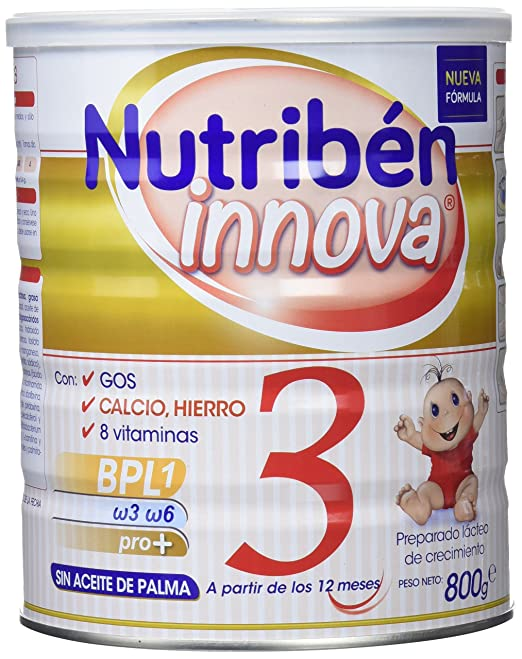 Nutribén Innova 3 Leche - 800 gr