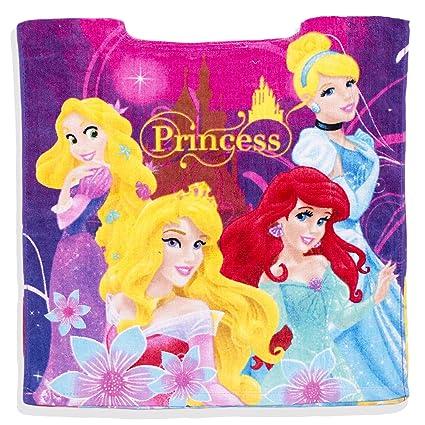 Con licencia oficial de Disney Princess Kids Niñas Poncho toalla de baño y playa tiempo –